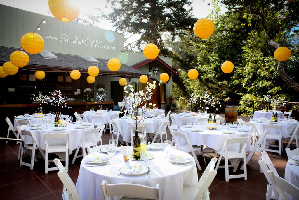 Creekside Courtyard Reception