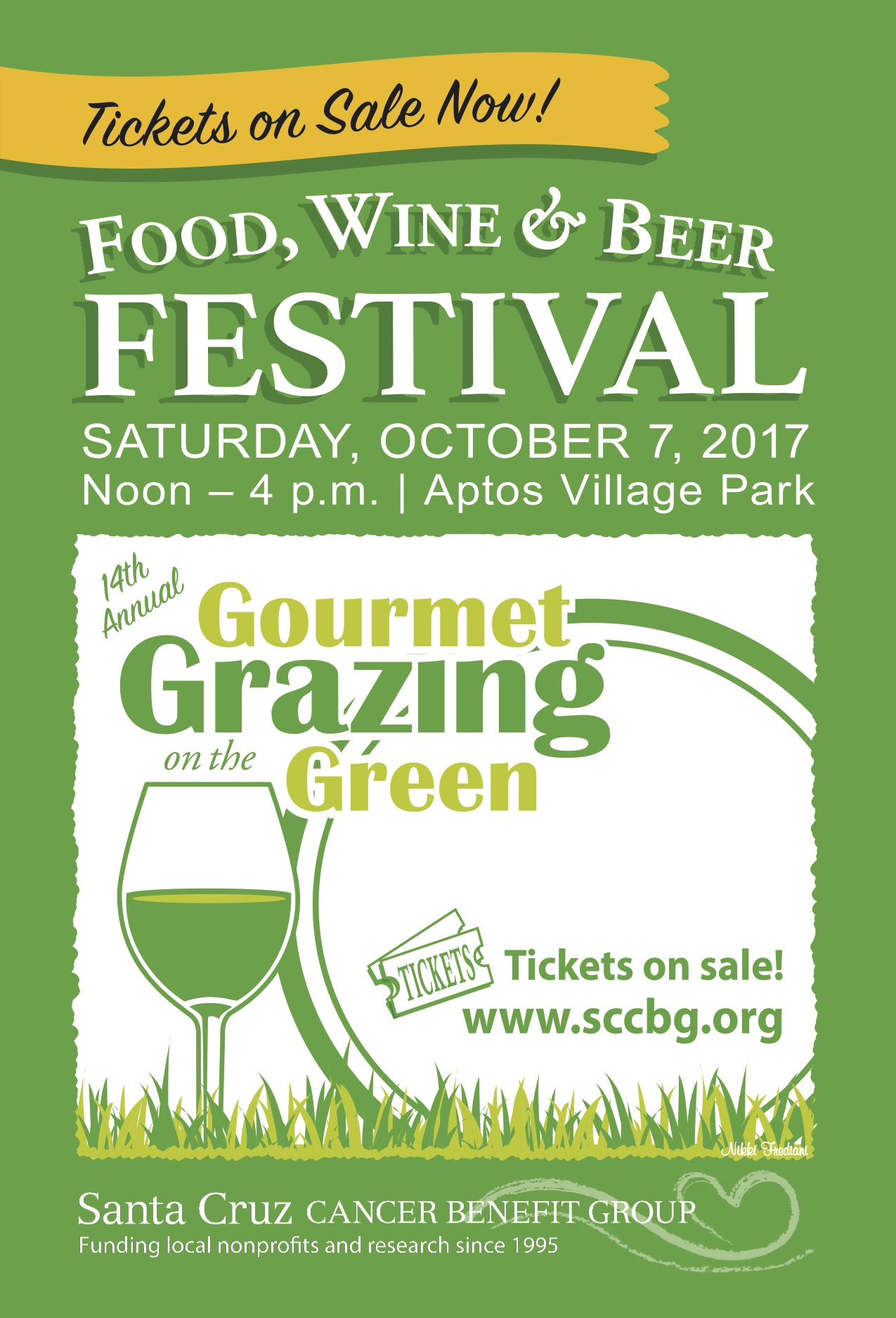 BARGETTO WINERY at Gourmet Grazing on the Green @ APTOS VILLAGE PARK